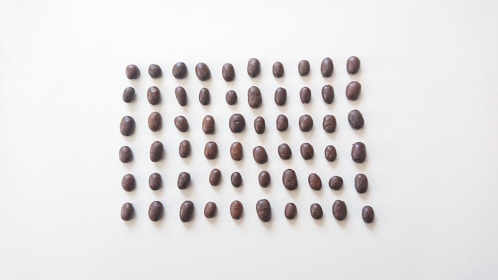 コーヒー豆一人分の量について