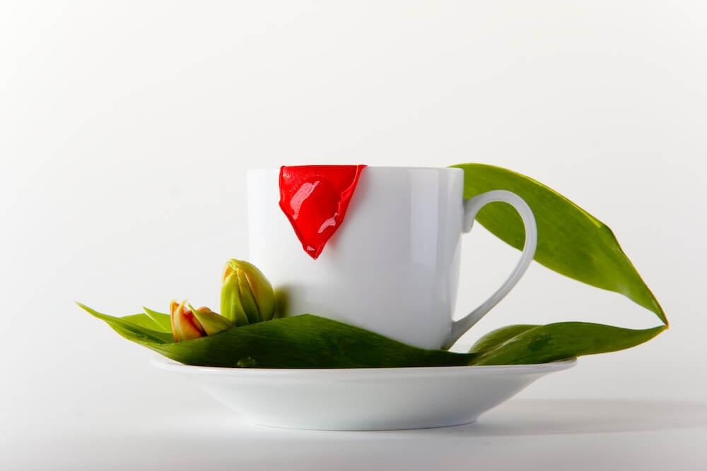 モカで華やかなコーヒータイムを
