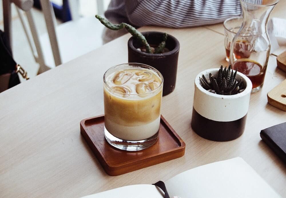 飲み方その1|濃厚カフェラテ