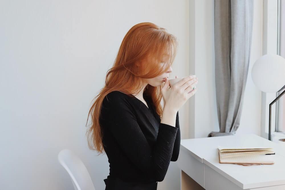 イライラしたら、コーヒーを飲んで一休み